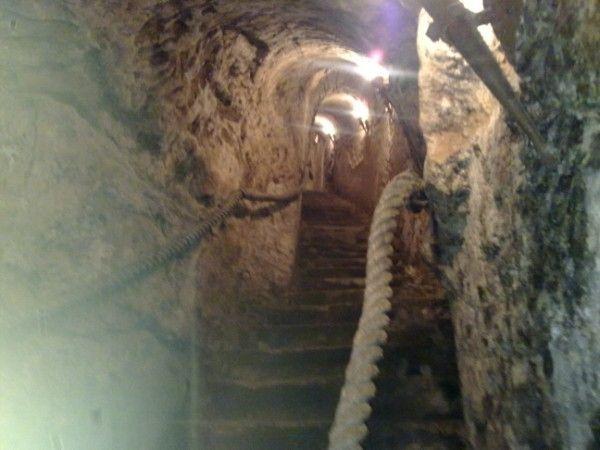 Underground caves Aranda de Duero