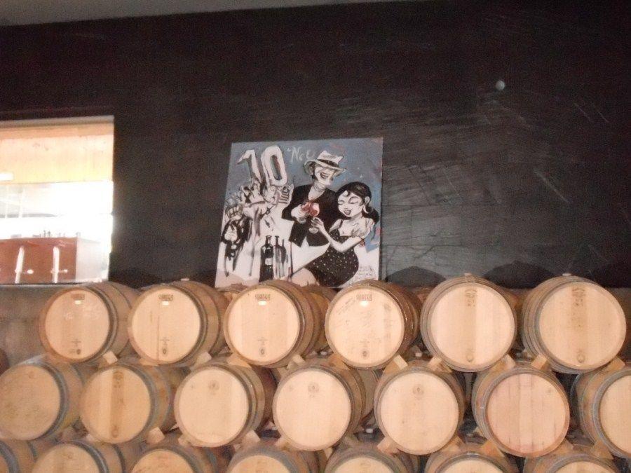 Visitamos Bodegas Neo con el Winebus 2