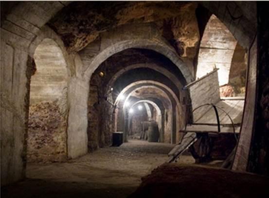 Aranda de Duero cuevas