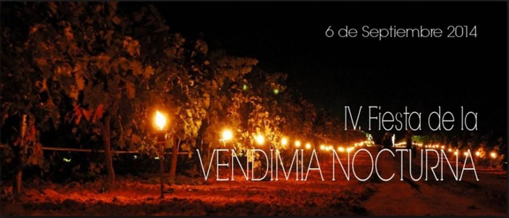 Fiesta de la vendimia nocturna En Bodegas Vihucas