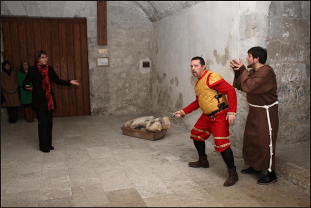 Visita teatralizada de Castillo de Cuéllar