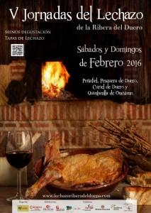 Jornadas de lechazo en Peñafiel (7.2.16)