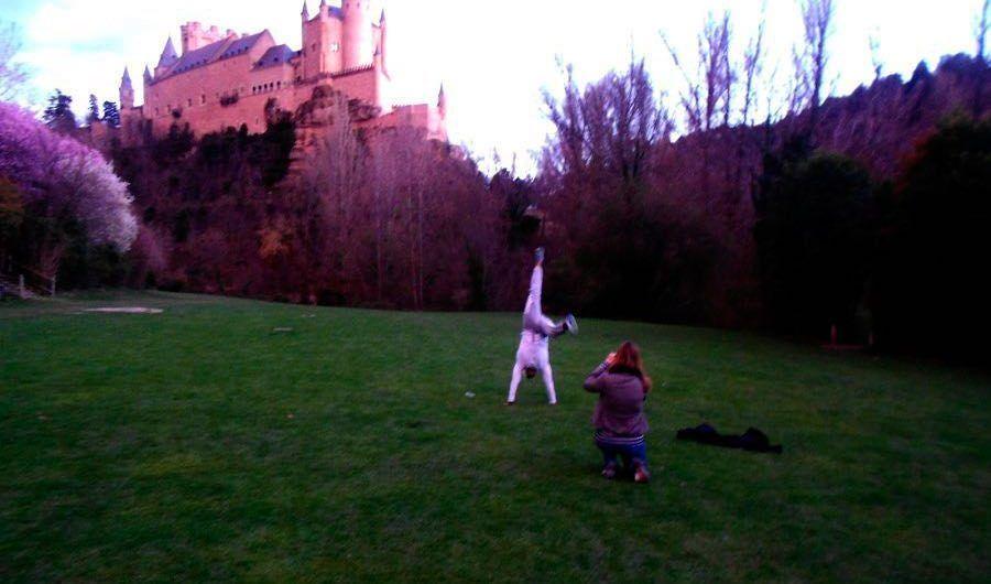 Jumping Segovia Alcázar