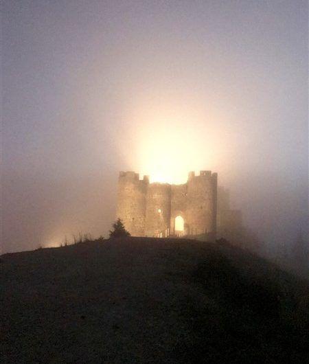 Medieval Castle in Ribera del Duero