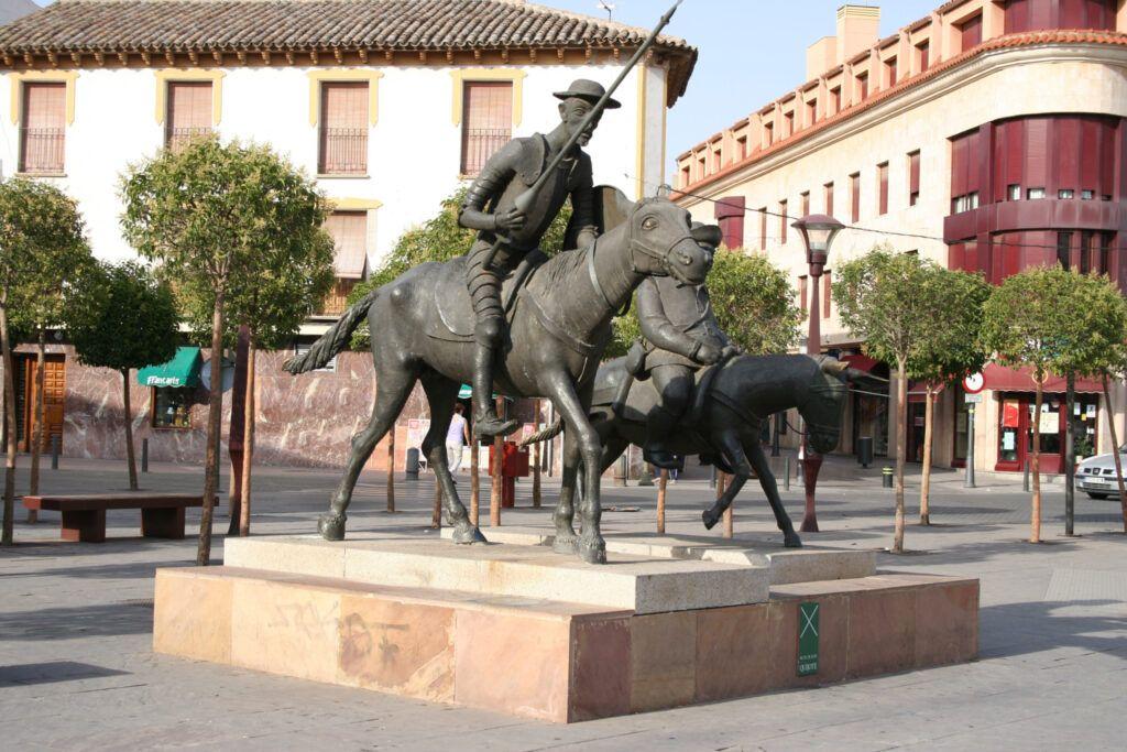 Don Quijote en Alcázar de san Juan