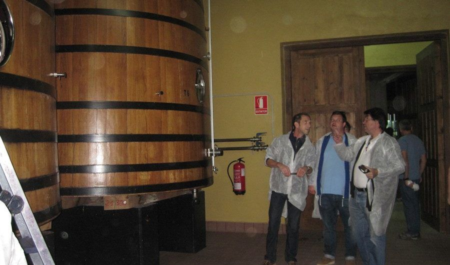 Visiting wineries in the new technologies era