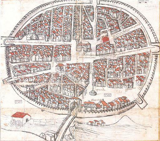 Aranda de Duero 5 centuries ago