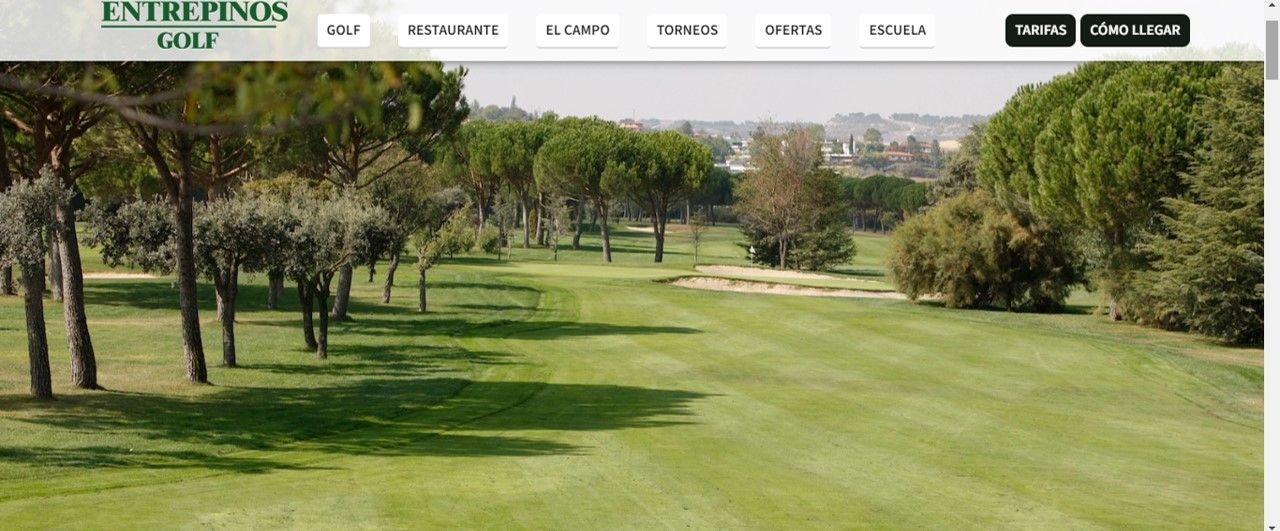 Golf and wine Golf Entrepinos