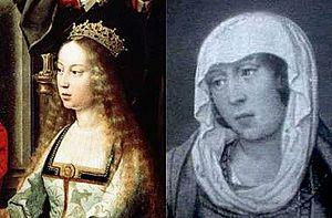 Isabel y Juana la Beltraneja
