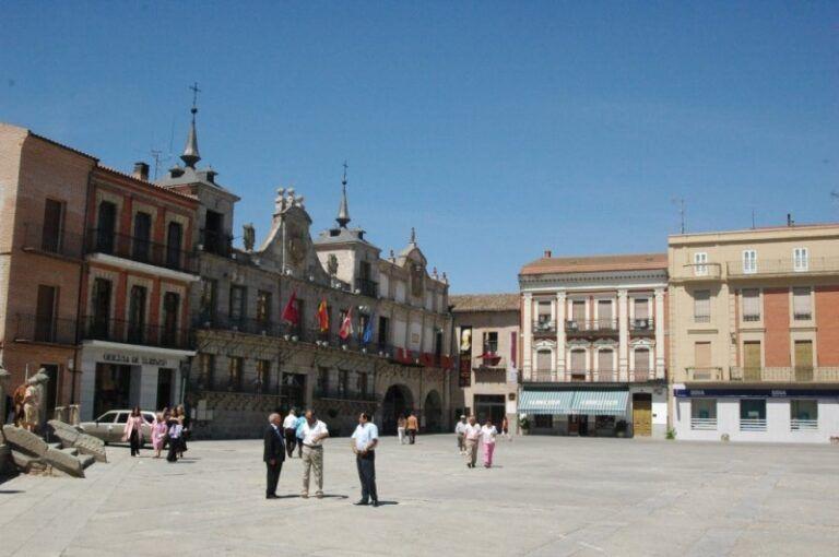 Plaza Mayor Medina del Campo Segovia