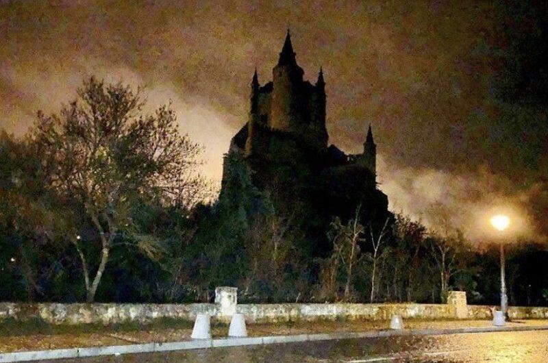 Alcazar de Segovia en Cabalgata de Reyes